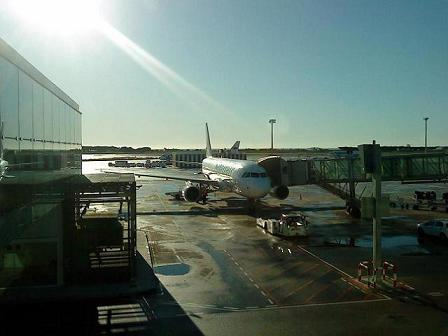 Aeropuertos sin vuelos
